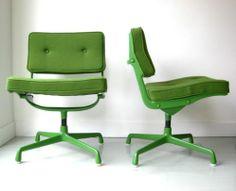 Eames ES102 Intermediate Chairs RARE Herman Miller