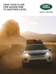 Take your flair for adventure to another level.