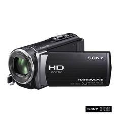 Sony HD Flash Memory Digital Camcorder (HDRCX210/B) with 25x Optical Zoom, 8GB Internal Storage - Black. Cool to video tape stuff