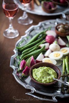Fresh Herb Aioli with Vegetables | Le Grand Aïoli