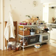 Diy Kitchen, Kitchen Dining, Japanese Kitchen, Tiny Spaces, Room Interior Design, Tiny Living, Declutter, Home Kitchens, Sweet Home