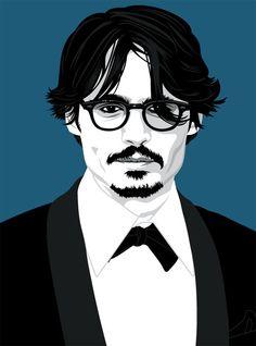 Johnny Depp sketch Art And Illustration, Johnny Depp Wallpaper, John Depp, Mr D, Most Handsome Actors, Movie Characters, Fictional Characters, Pop Art Portraits, Captain Jack Sparrow