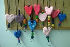 Art For Kids, Crafts For Kids, Arts And Crafts, Diy Crafts, Heart Crafts, Diy Projects To Try, Presents, Clay, Create