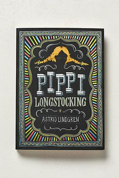 I hope my kids love Pippi Longstocking as much as I did growing up! Pippi Longstocking #anthropologie