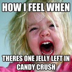 "Candy Crush. I hate this game but I can't stop playing it! ✔#Like ✔""#Share"" ✔#Comment ✔#Repost ✔#Friend ✔#Follow me Always posting #Awesome Stuff! ●► www.facebook.com/essense.secrets"
