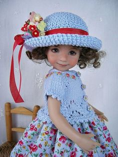 Blue-Rosy-Dress-Knit-Hat-for-Dianna-Effner-Little-Darling-13-made-by-Ulla