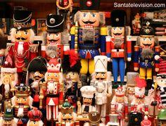 Casses-noisettes allemands au marché de Noël de Luxembourg
