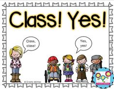 """Have you tried """"Class! Yes!"""" yet? It's a great way to break into the Whole Brain Teaching classroom management system, and it REALLY WORKS! Click through for an explanation, video to watch, and FREE download. Great for your Kindergarten, 1st, 2nd, 3rd, 4th, 5th, or 6th grade classroom!"""