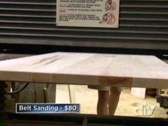 Marc shows a homeowner how to build his own butcher-block countertops.   This video is part of   Kitchen Impossible show   hosted by Marc Bartolomeo . SHOW DESCRIPTION :When it comes to kitchens, homeowners often end up overwhelmed, out of money and frustrated with the renovation process. On Kitchen Impossible, contractor Marc Bartolomeo helps d...