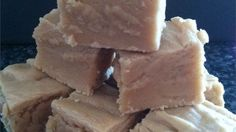 Evaporated milk, peanut butter and marshmallow creme are the signature ingredients in this fudge.