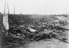 Dead Romanian soldiers 1916 at Kronstadt (now Stalin).