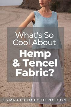 While both hemp and Tencel have lots to recommend them, weaving those two fibers together results in a sustainable blend that enhances the virtues of each. Sustainable Fabrics, Sustainable Clothing, Sustainable Fashion, Rough Hands, Flax Fiber, Hemp Fabric, Cut Work, Ethical Fashion, Sustainability