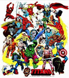 Titans free poster