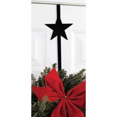 Star - Wrought Iron Wreath Hanger | Ceardai