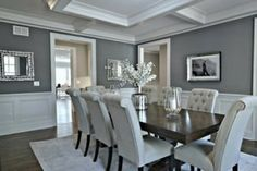 selecting the right shade for gray walls and dark floors