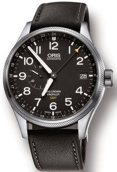 Oris Watch Big Crown Propilot GMT Leather #basel-15 #bezel-fixed #bracelet-strap-leather #brand-oris #case-depth-12-9mm #case-material-steel #case-width-45mm #date-yes #delivery-timescale-4-7-days #dial-colour-black #gender-mens #gmt-yes #luxury #movement-automatic #new-product-yes #official-stockist-for-oris-watches #packaging-oris-watch-packaging #style-dress #subcat-big-crown #supplier-model-no-01-748-7710-4164-07-5-22-19fc #warranty-oris-official-2-year-guarantee #water-resistant-100m