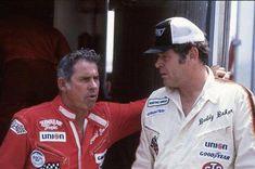 David Pearson and Buddy Baker