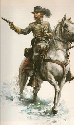 SOLDIERS- Troiani: ACW- Confederate: Hood's brigade Texas, by Don Troiani.