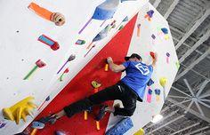 Bouldering at The Cliffs LIC, New York's newest rock climbing gym. #rockclimbing