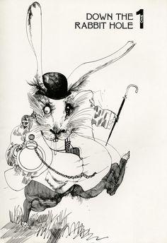 Alice in Wonderland Illustrated by Ralph Steadman: A 1973 Gem | Brain Pickings