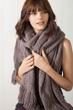 Pattern of the Week: Herring Cove Wrap Shawl Patterns, Knitting Patterns, Shawl Cardigan, Autumn Cozy, Learn How To Knit, Oversized Scarf, Knitted Shawls, Knits, Crisp