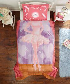 Ballerina Comforter Set