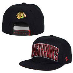 Get this Chicago Blackhawks Villan Snapback Adjustable Cap at ChicagoTeamStore.com