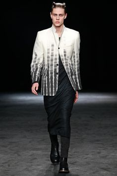 Ann Demeulemeester Fall 2012 Menswear Collection on Style.com: Complete Collection