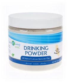 Calcium Bentonite Clay Drinking Powde... $17.95 #Earth'sLiving