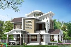 Modern houses pictures in indian modern house design using main hall door design in houses and . modern houses pictures in indian Bungalow House Design, House Front Design, Modern Bungalow, Modern House Design, Door Design, Indian Home Design, Kerala House Design, Modern Houses Pictures, Villa