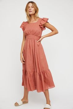 Shop our Takin' A Chance Midi Dress at FreePeople.com. Share style pics with FP Me, and read & post reviews. Free shipping worldwide - see site for details.