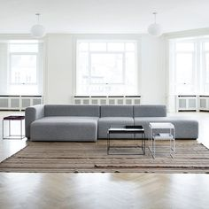 I love this sofa. HAUS - Mags Modular Sofa by Hay