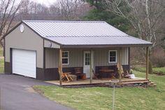 Our Gallery : Metal Buildings : Steel Buildings : Pole Building Ohio : 64Metals.com