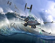 Star Wars Artwork by Kurt Miller:
