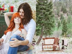 Hippie Engagement Session by Gaby J