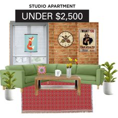 """Studio apartment"" by ziernor on Polyvore"