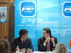 Encuentro con afiliados del PP de Galapagar