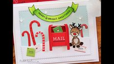 Simon Says Stamp December 2016 Card Kit | Merry & Bright Greetings