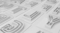 Typography Experiment by Carlos de Toro