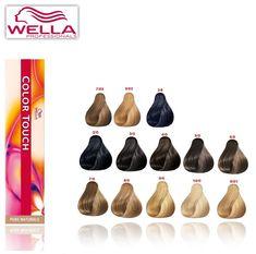 wella colour touch semi permanent hair dyecolour 100 geniuine pure natural - Color Touch Nuancier