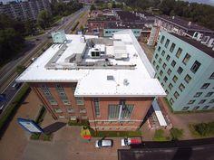Wit dak #seclife Oude melkfabriek Groningen