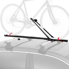 Bicycle Car Racks - 1 Bike Car Roof Carrier Rack Bicycle Racks with Lock >>> Be sure to check out this awesome product.