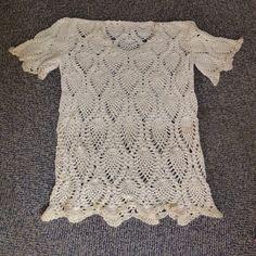 パイナップル編みのセーター