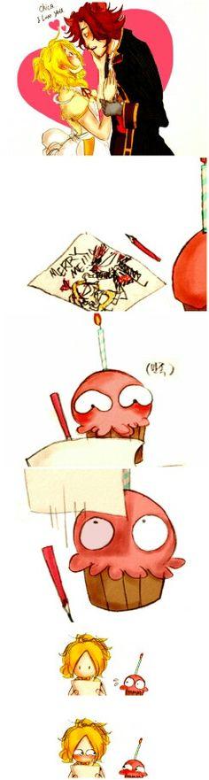 Cupcake....(modo pervertida) que modificaciones le hiciste al dibujo...<3