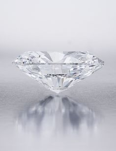 118.28 carat, Oval Brilliant, D color, Flawless clarity diamond, sold for nearly 31 million US dollars