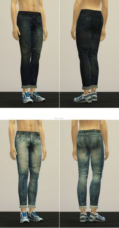 Rusty Nail: Jeans V2-M • Sims 4 Downloads