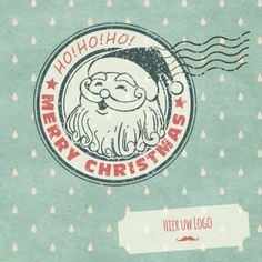 Kerstkaarten en nieuwjaarskaarten van Santhos! Merry, Personalized Items, Logos, Holiday, Cards, Design, Vacations, Logo