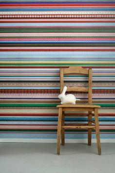 Linten behang | Producten | Studio ditte