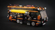 31052 Camping ven dress-up by HaeunDaddy 😄 #lego #legostagram #afol #moc #31052 #camping #ven #car #brick #hobby #orange #black #vehicle #레고 #브릭 #취미 #창작 #캠핑 #차량 #자동차 #오렌지 #검정