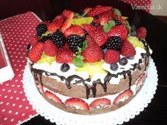 Nahá torta - bezlepková